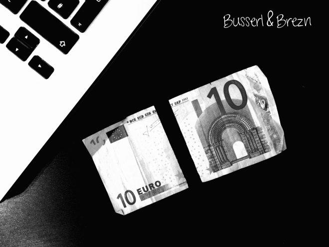 Zerissener Geldschein