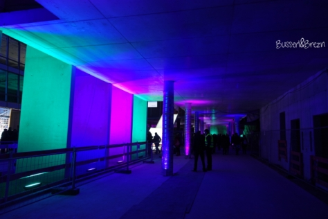 Siemens Headquarter Lichtinstallation