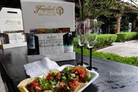 Freixenet Weinprobe Essen und Souvenir