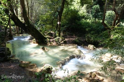 Sierra Gorda kleiner Wasserfall