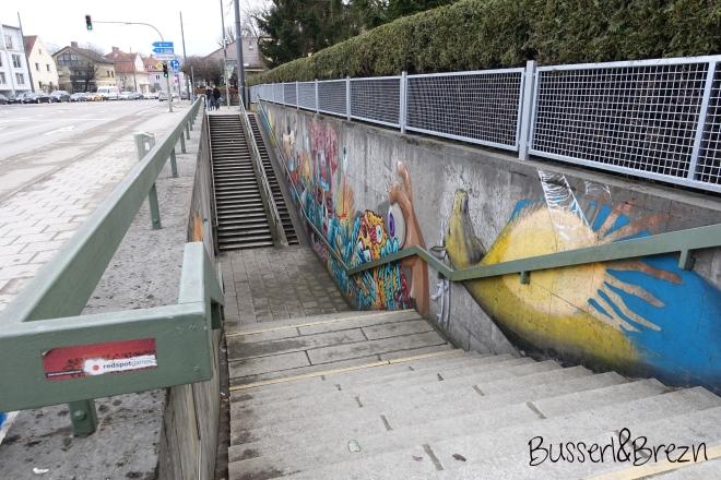 Graffiti Botanischer Garten