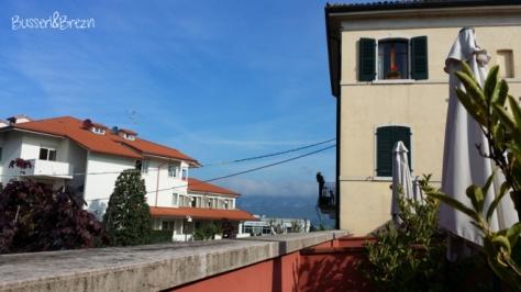 Aussicht aus dem Hotel