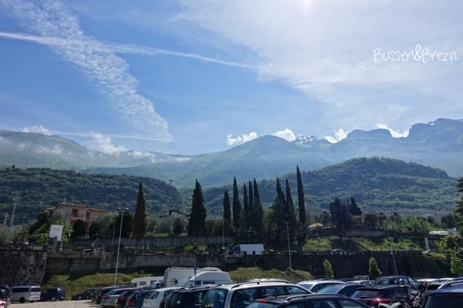 Aussicht Parkplatz Malcesine Gardasee