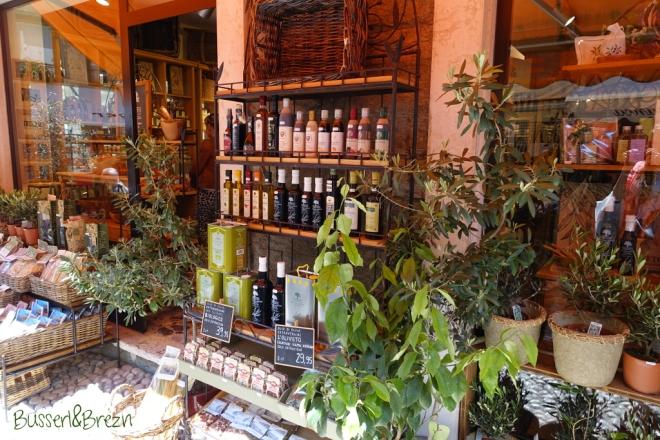 Malcesine Shop Olivenöl