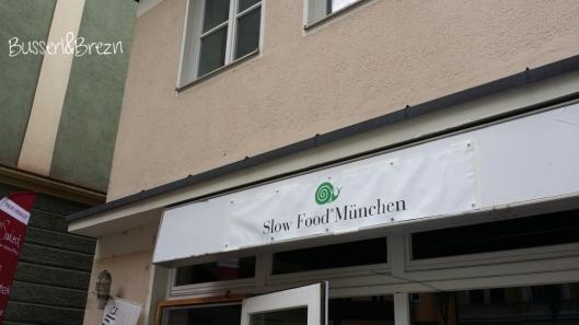 Slow Food Markt Eingang Lindwurmstr. 122