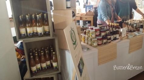 Slow Food Markt Stände