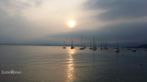 Sonnenuntergang Bardolino Gardasee