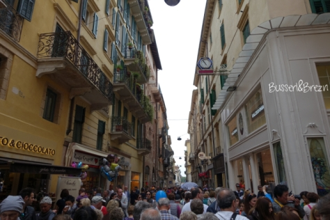 Verona Fußgängerzone