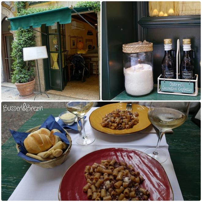 Verona Pasta und Vino