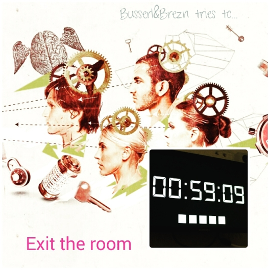 Exit the Room Collage