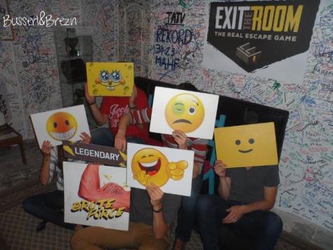 Gruppenbild Exit the Room