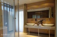 Badezimmer Hotel Villa Lago Bad Wiessee