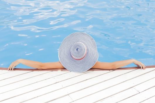 Relaxen am Pool