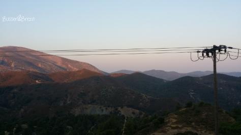 Rhodos Westküste Gebirge