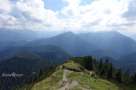 Ausblick Heimgartenhütte