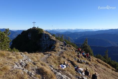 Wanderung Risserkogel_Gipfelkreuz