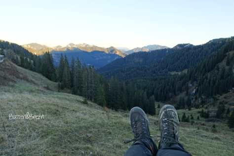 Wanderung Risserkogel_Wallberg Abstieg